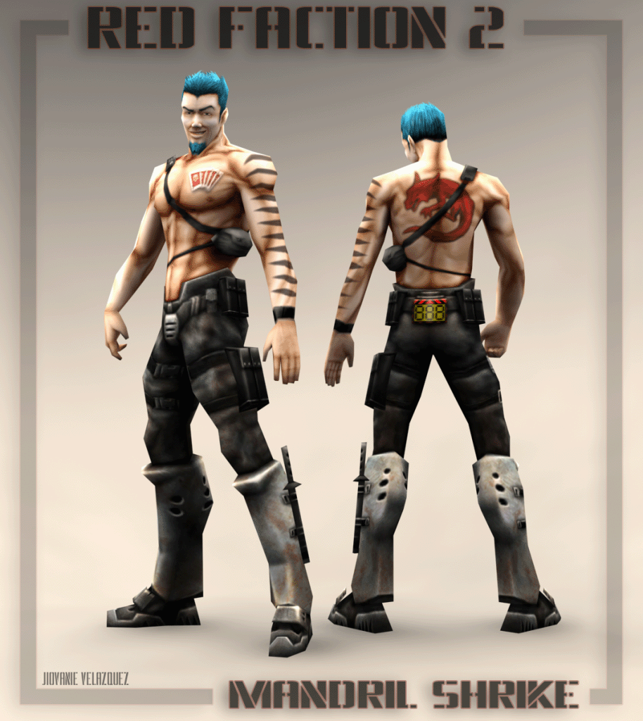 red faction 2 character